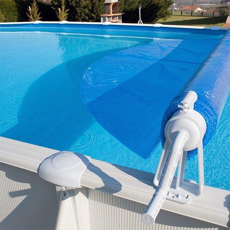 Enrolladores de mantas térmicas para piscinas