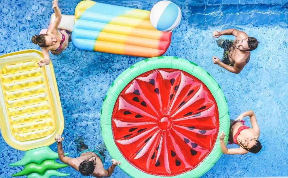 Accesorios y piscinas