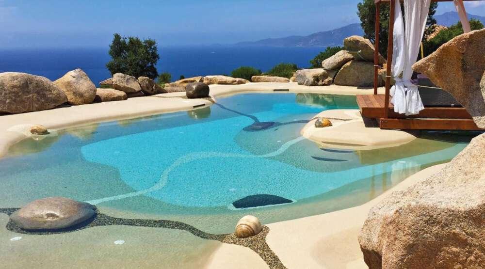 Arena para piscinas
