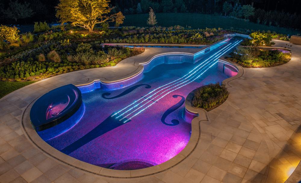piscinas interiores de lujo