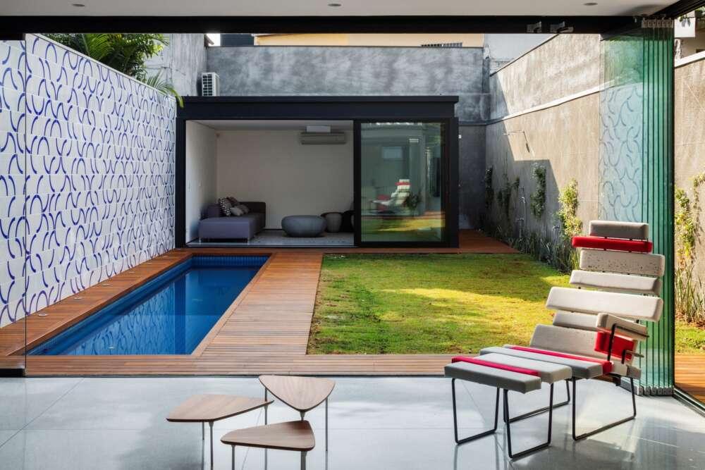 Piscinas pequeñas para patios
