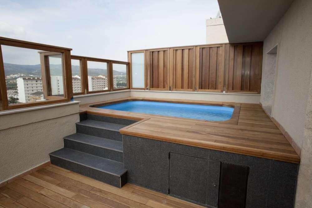 Piscinas desmontables para terrazas