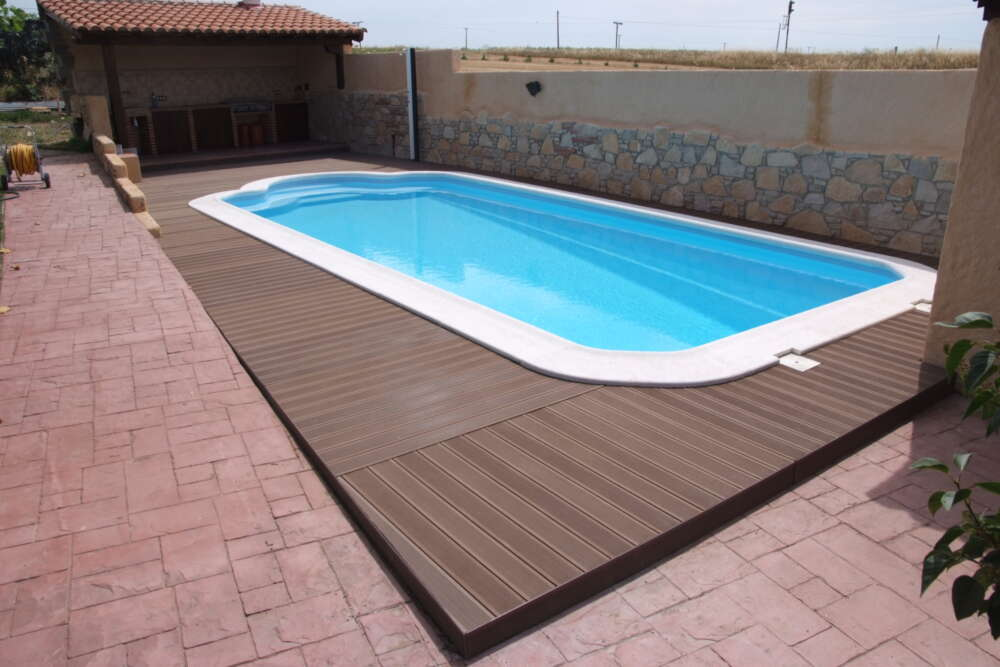 Tapiz de suelo para piscinas desmontables